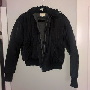 URBAN OUTFITTERS silence + noise black jacket